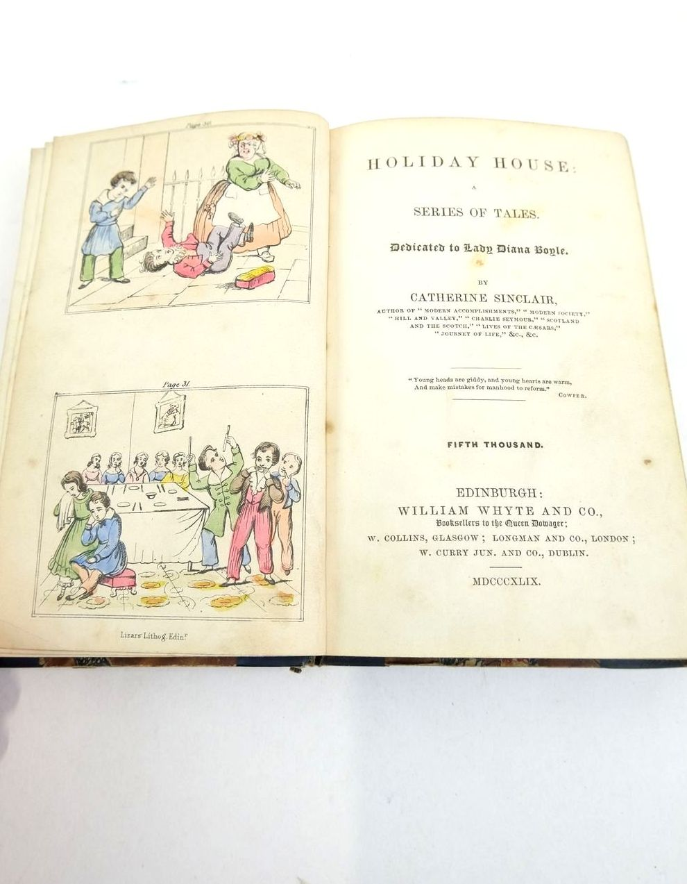 Photo of HOLIDAY HOUSE: A SERIES OF TALES written by Sinclair, Catherine published by William Whyte (STOCK CODE: 1821066)  for sale by Stella & Rose's Books