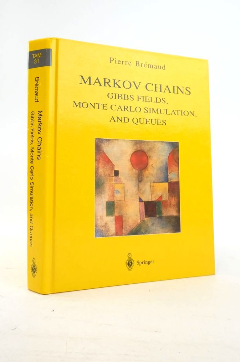 Photo of MARKOV CHAINS: GIBBS FIELDS, MONTE CARLO SIMULATION, AND QUEUES- Stock Number: 1821070