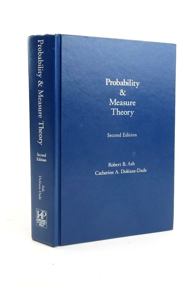 Photo of PROBABILITY AND MEASURE THEORY written by Ash, Robert B. published by Harcourt, Academic Press (STOCK CODE: 1821074)  for sale by Stella & Rose's Books