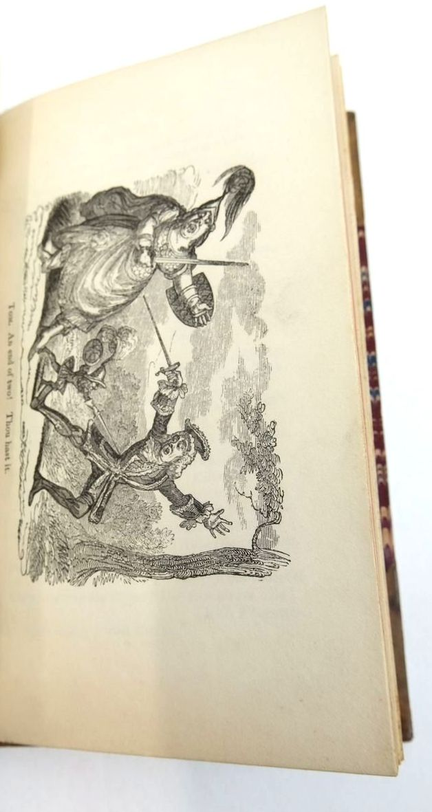 Photo of TOM THUMB: A BURLETTA written by Fielding, Henry O'Hara, Kane illustrated by Cruikshank, George published by Joseph Thomas (STOCK CODE: 1821080)  for sale by Stella & Rose's Books