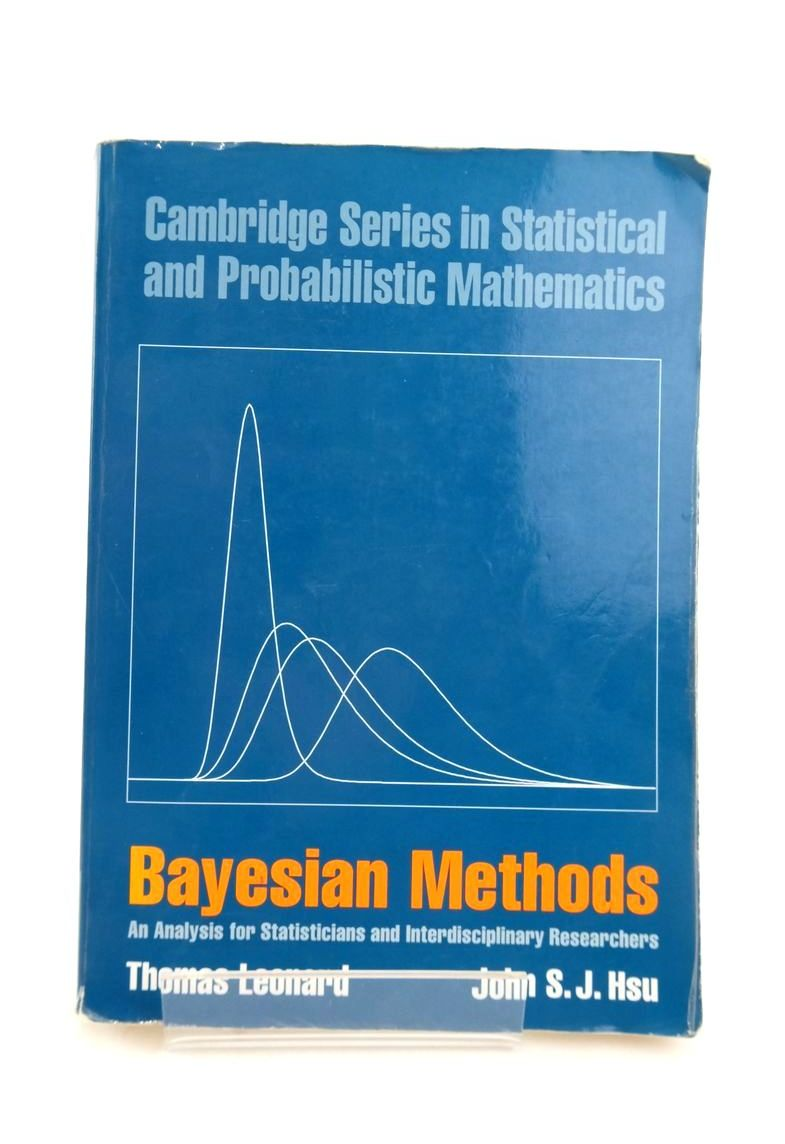 Photo of BAYESIAN METHODS: AN ANALYSIS FOR STATISTICIANS AND INTERDISCIPLINARY RESEARCHERS- Stock Number: 1821085