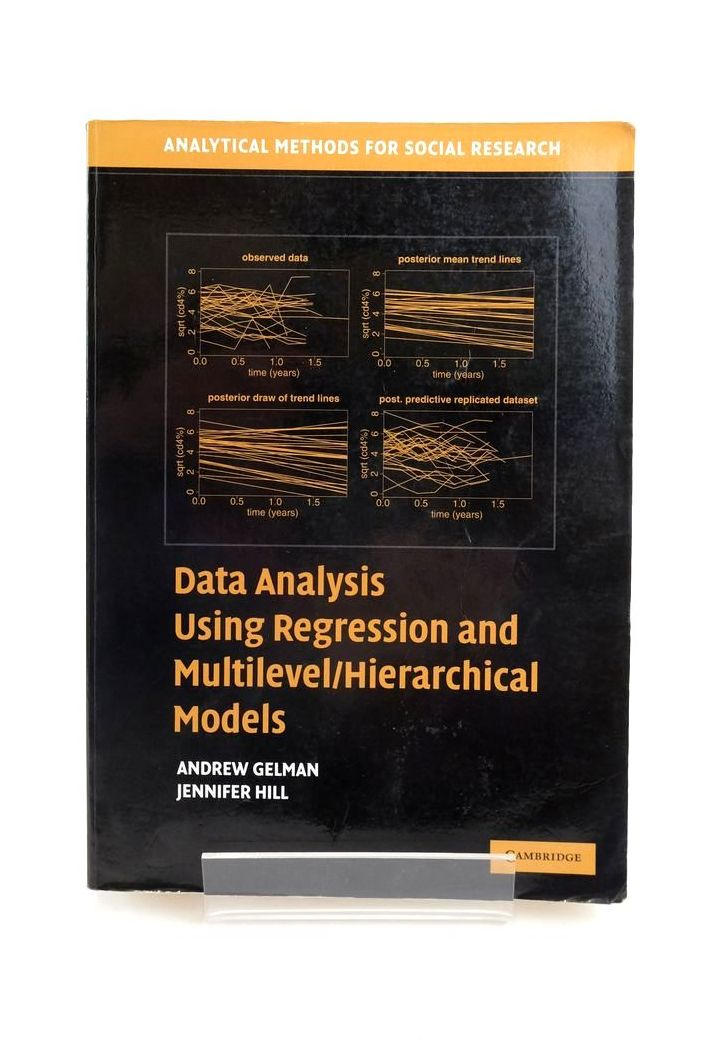 Photo of DATA ANALYSIS USING REGRESSION AND MULTILEVEL/HIERARCHICAL MODELS- Stock Number: 1821087