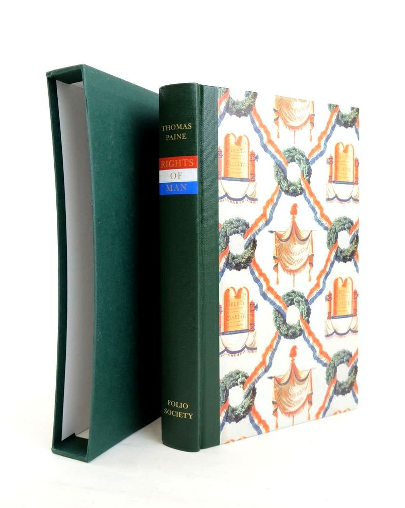 Photo of RIGHTS OF MAN written by Paine, Thomas Foot, M.R.D. published by Folio Society (STOCK CODE: 1821095)  for sale by Stella & Rose's Books