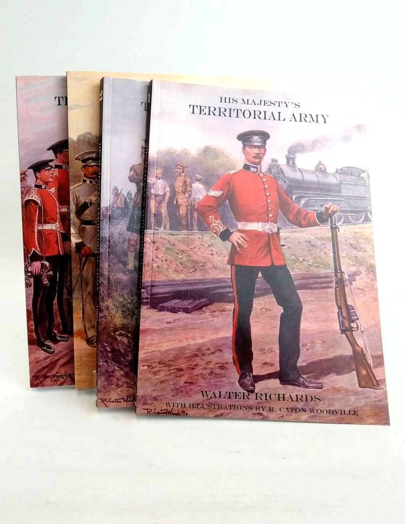 Photo of HIS MAJESTY'S TERRITORIAL ARMY (4 VOLUMES) written by Richards, Walter illustrated by Woodville, R. Caton published by The Naval & Military Press Ltd. (STOCK CODE: 1821171)  for sale by Stella & Rose's Books