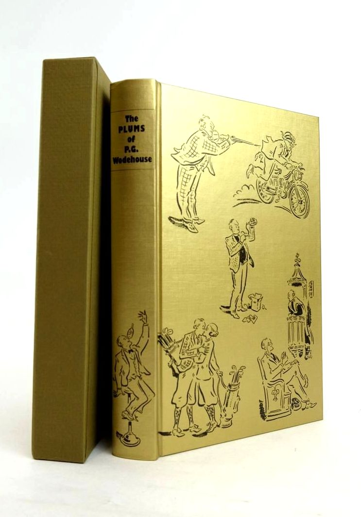 Photo of THE PLUMS OF P.G. WODEHOUSE written by Wodehouse, P.G. Blundell, Joe Whitlock illustrated by Cox, Paul published by Folio Society (STOCK CODE: 1821181)  for sale by Stella & Rose's Books