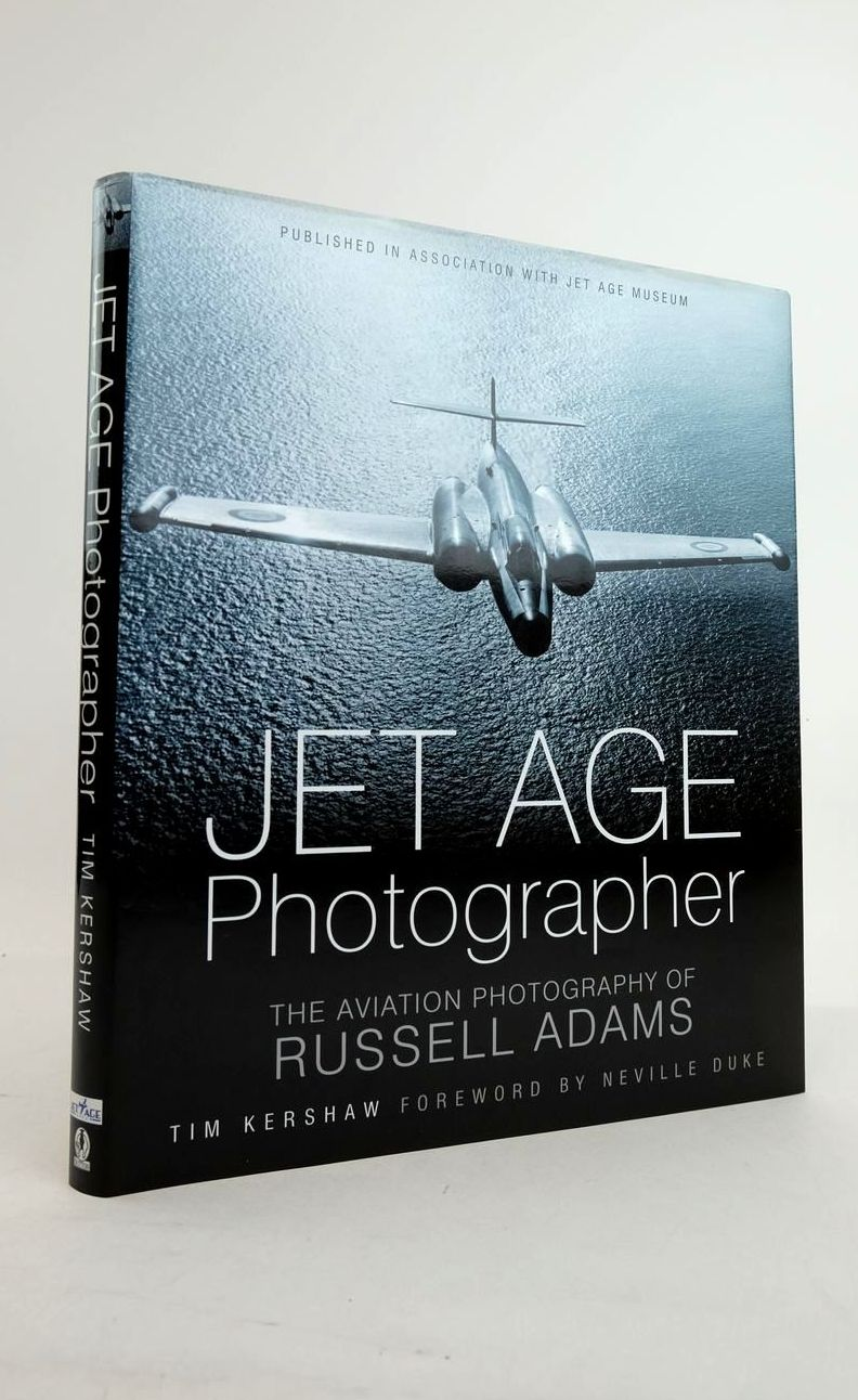 Photo of JET AGE PHOTOGRAPHER: THE AVIATION PHOTOGRAPHY OF RUSSELL ADAMS written by Kershaw, Tim illustrated by Adams, Russell published by Sutton Publishing (STOCK CODE: 1821226)  for sale by Stella & Rose's Books
