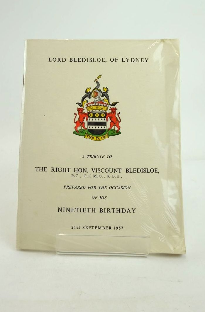 Photo of LORD BLEDISLOE OF LYDNEY- Stock Number: 1821256