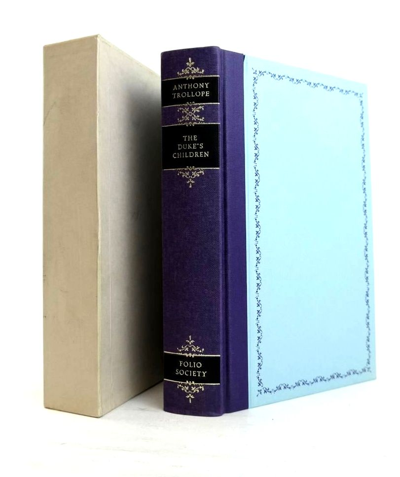 Photo of THE DUKE'S CHILDREN written by Trollope, Anthony Jenkins, Roy illustrated by Thomas, Llewellyn published by Folio Society (STOCK CODE: 1821296)  for sale by Stella & Rose's Books