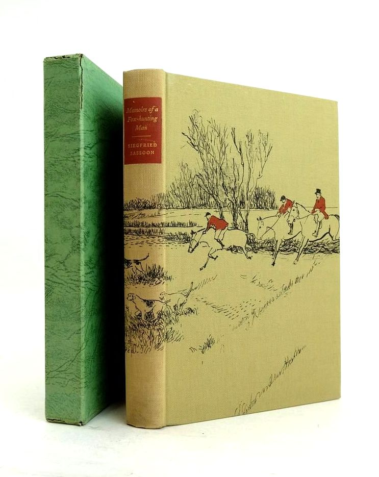 Photo of MEMOIRS OF A FOX-HUNTING MAN written by Sassoon, Siegfried Lascelles, Alan illustrated by Lamb, Lynton published by Folio Society (STOCK CODE: 1821300)  for sale by Stella & Rose's Books
