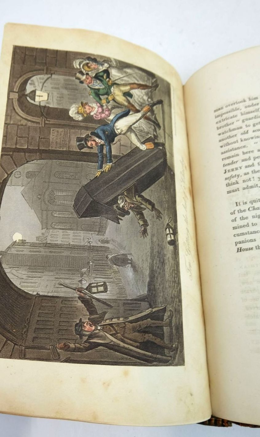Photo of LIFE IN LONDON written by Egan, Pierce illustrated by Cruikshank, George published by Sherwood, Neely & Jones (STOCK CODE: 1821320)  for sale by Stella & Rose's Books