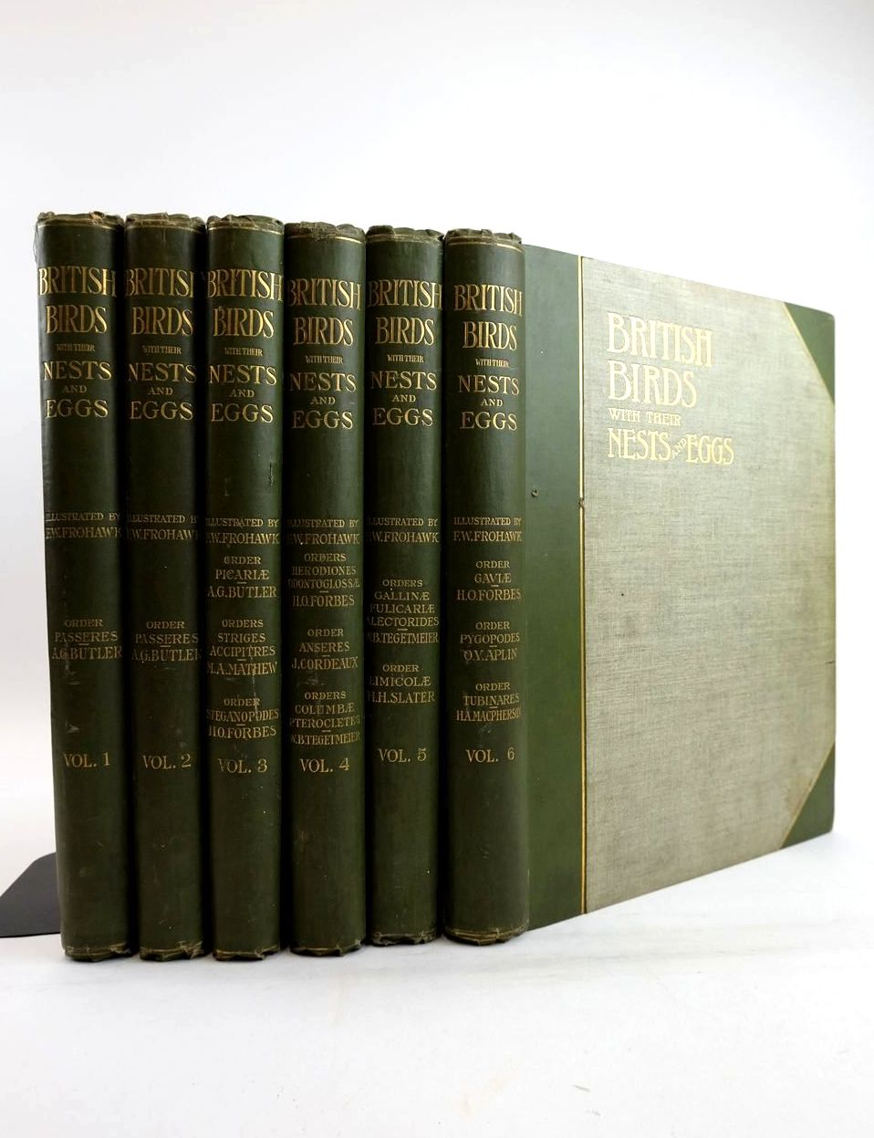 Photo of BRITISH BIRDS WITH THEIR NESTS AND EGGS IN SIX VOLUMES- Stock Number: 1821323