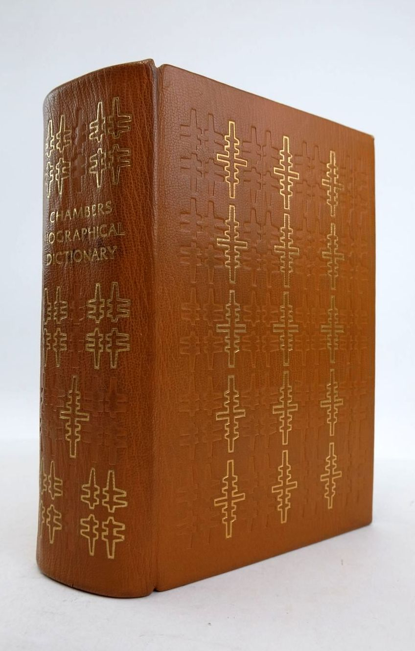 Photo of CHAMBERS BIOGRAPHICAL DICTIONARY- Stock Number: 1821324