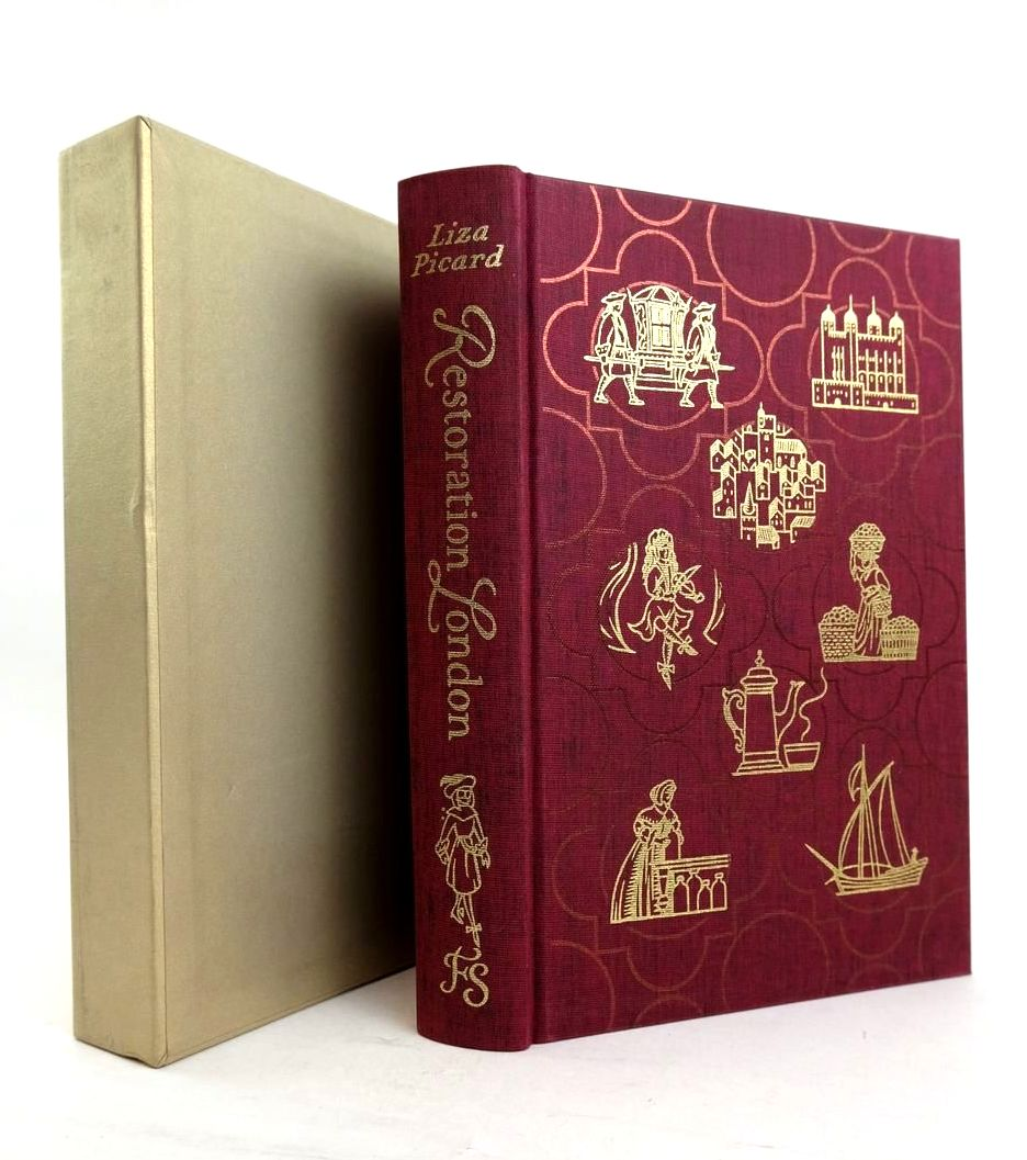 Photo of RESTORATION LONDON: EVERYDAY LIFE IN LONDON 1660-1670 written by Picard, Liza Uglow, Jenny published by Folio Society (STOCK CODE: 1821328)  for sale by Stella & Rose's Books