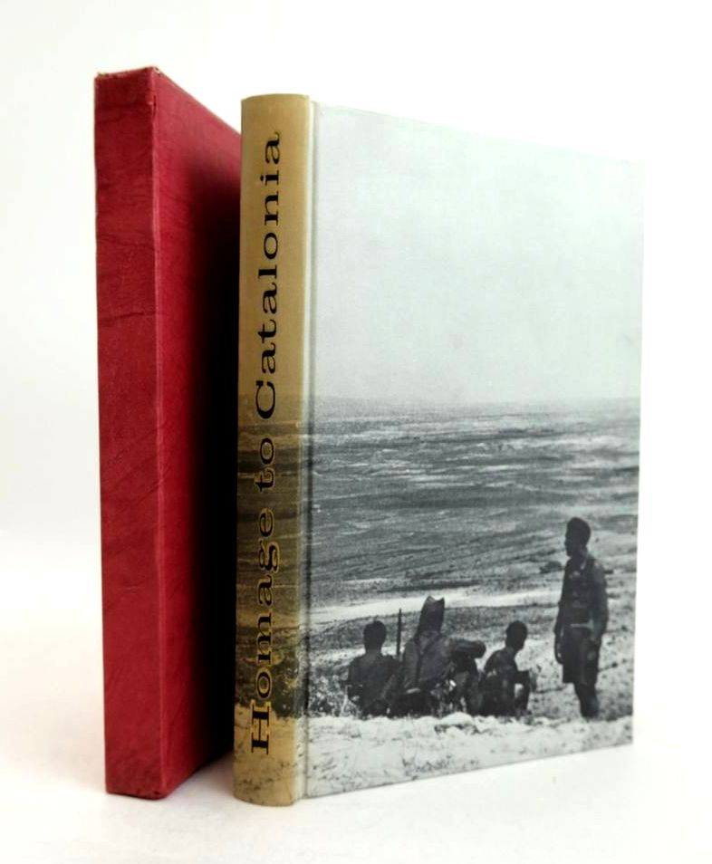 Photo of HOMAGE TO CATALONIA written by Orwell, George Edwards, Bob published by Folio Society (STOCK CODE: 1821338)  for sale by Stella & Rose's Books
