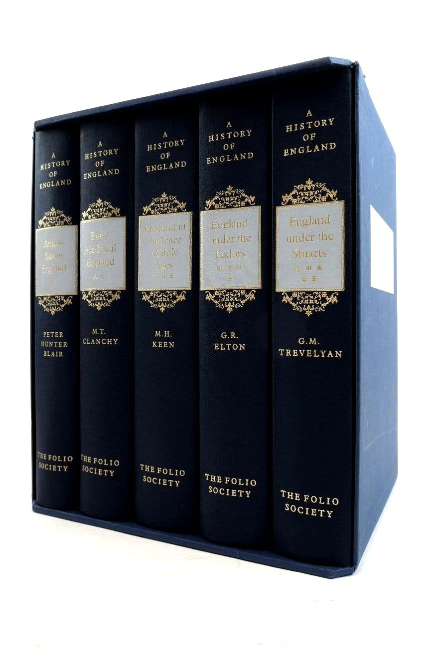 Photo of A HISTORY OF ENGLAND (5 VOLUMES) written by Keen, M.H. Blair, Peter Hunter Clanchy, M.T. Elton, G.R. Trevelyan, G.M. published by Folio Society (STOCK CODE: 1821415)  for sale by Stella & Rose's Books