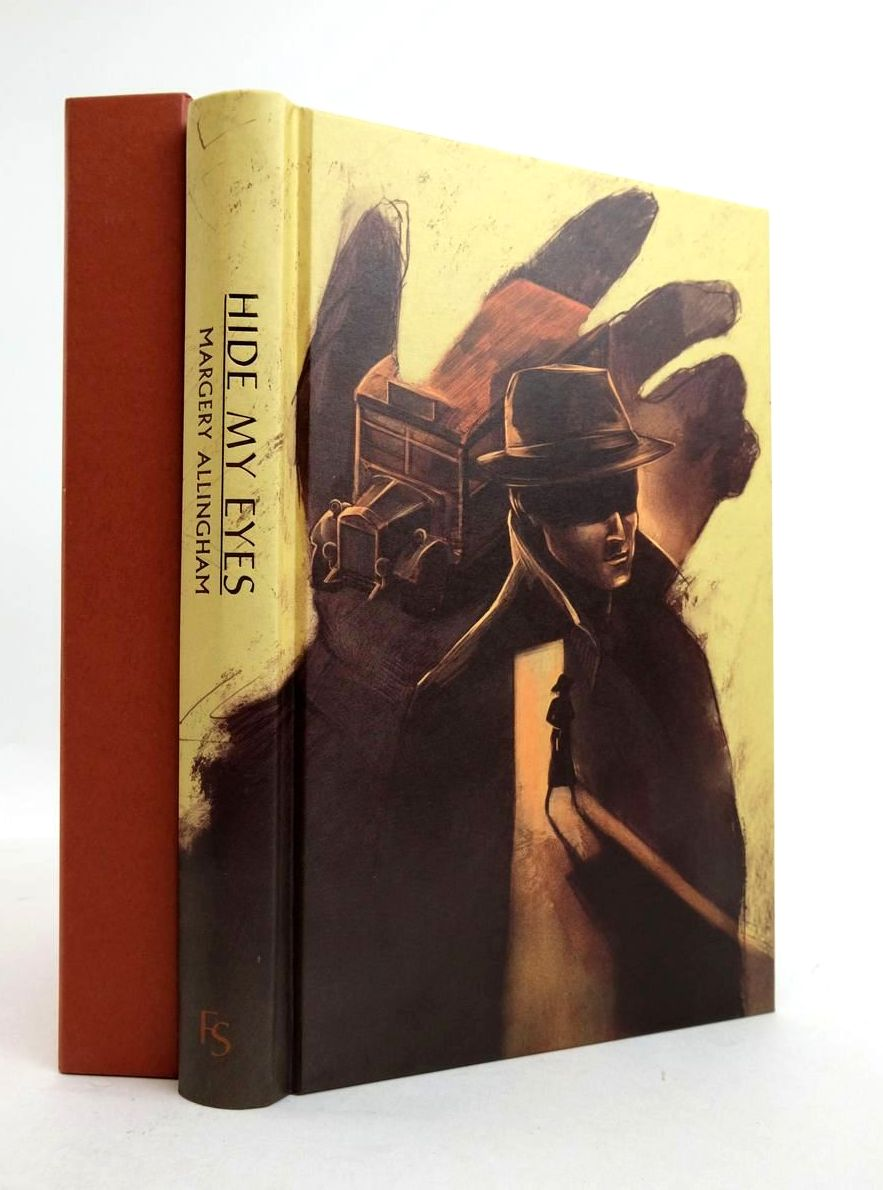 Photo of HIDE MY EYES written by Allingham, Margery illustrated by Savescu, Alexandru published by Folio Society (STOCK CODE: 1821428)  for sale by Stella & Rose's Books
