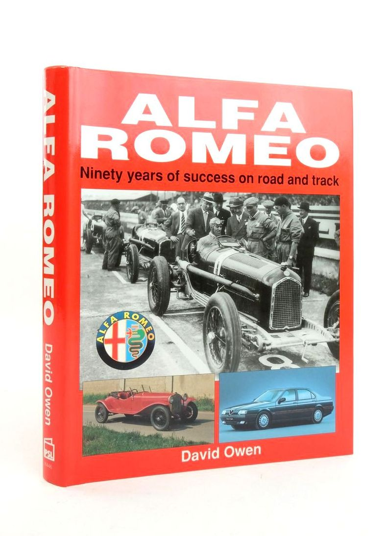 Photo of ALFA ROMEO: NINETY YEARS OF SUCCESS ON ROAD AND TRACK- Stock Number: 1821437