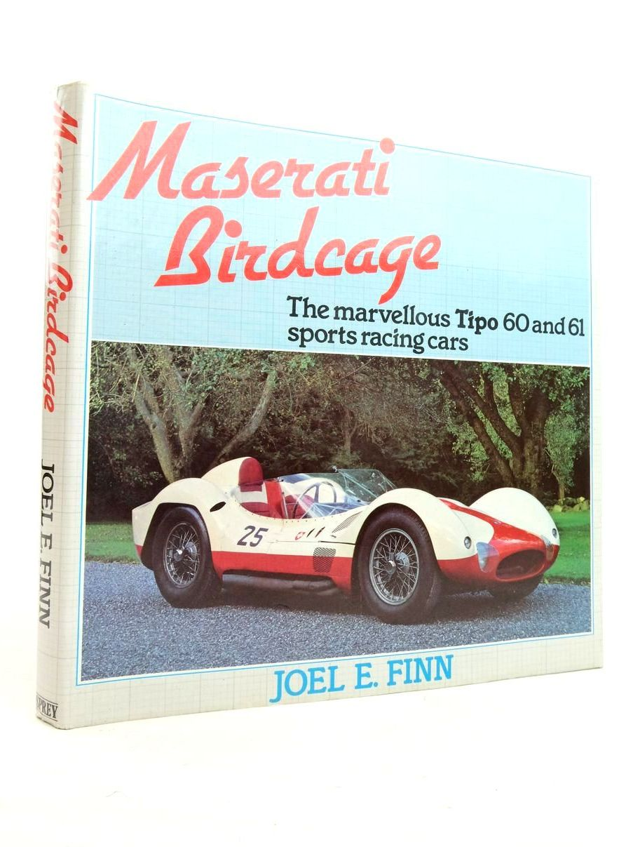 Photo of MASERATI BIRDCAGE written by Finn, Joel E. published by Osprey Publishing (STOCK CODE: 1821443)  for sale by Stella & Rose's Books