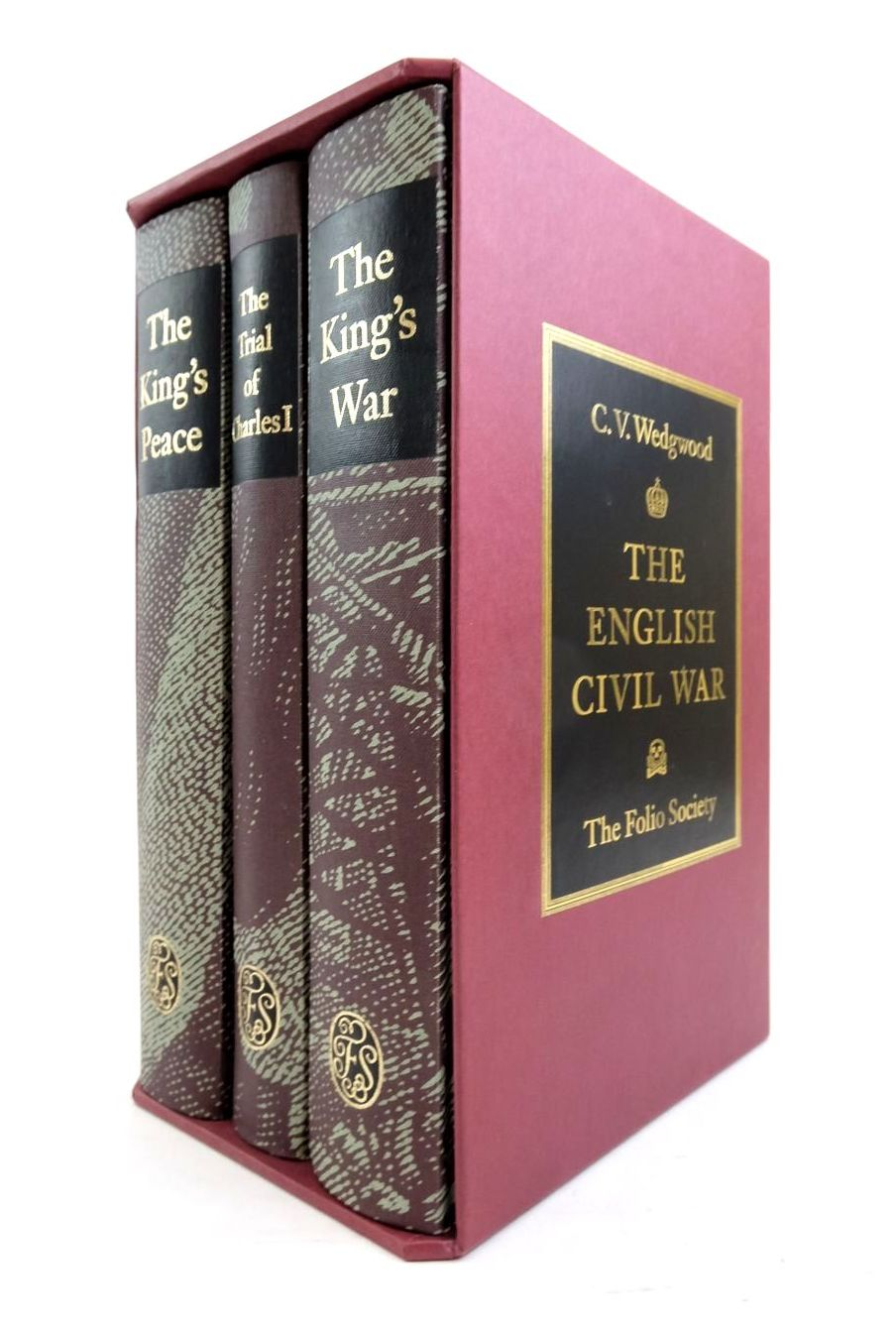 Photo of THE ENGLISH CIVIL WAR (3 VOLUMES) written by Wedgwood, C.V. published by Folio Society (STOCK CODE: 1821476)  for sale by Stella & Rose's Books