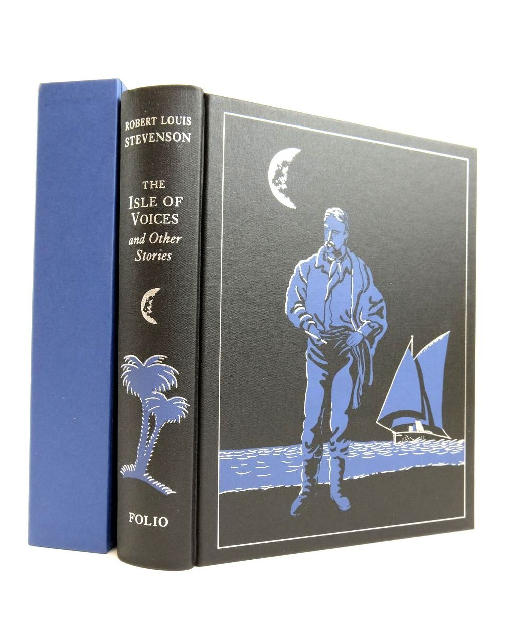 Photo of THE ISLE OF VOICES AND OTHER STORIES written by Stevenson, Robert Louis illustrated by Foreman, Michael published by Folio Society (STOCK CODE: 1821486)  for sale by Stella & Rose's Books