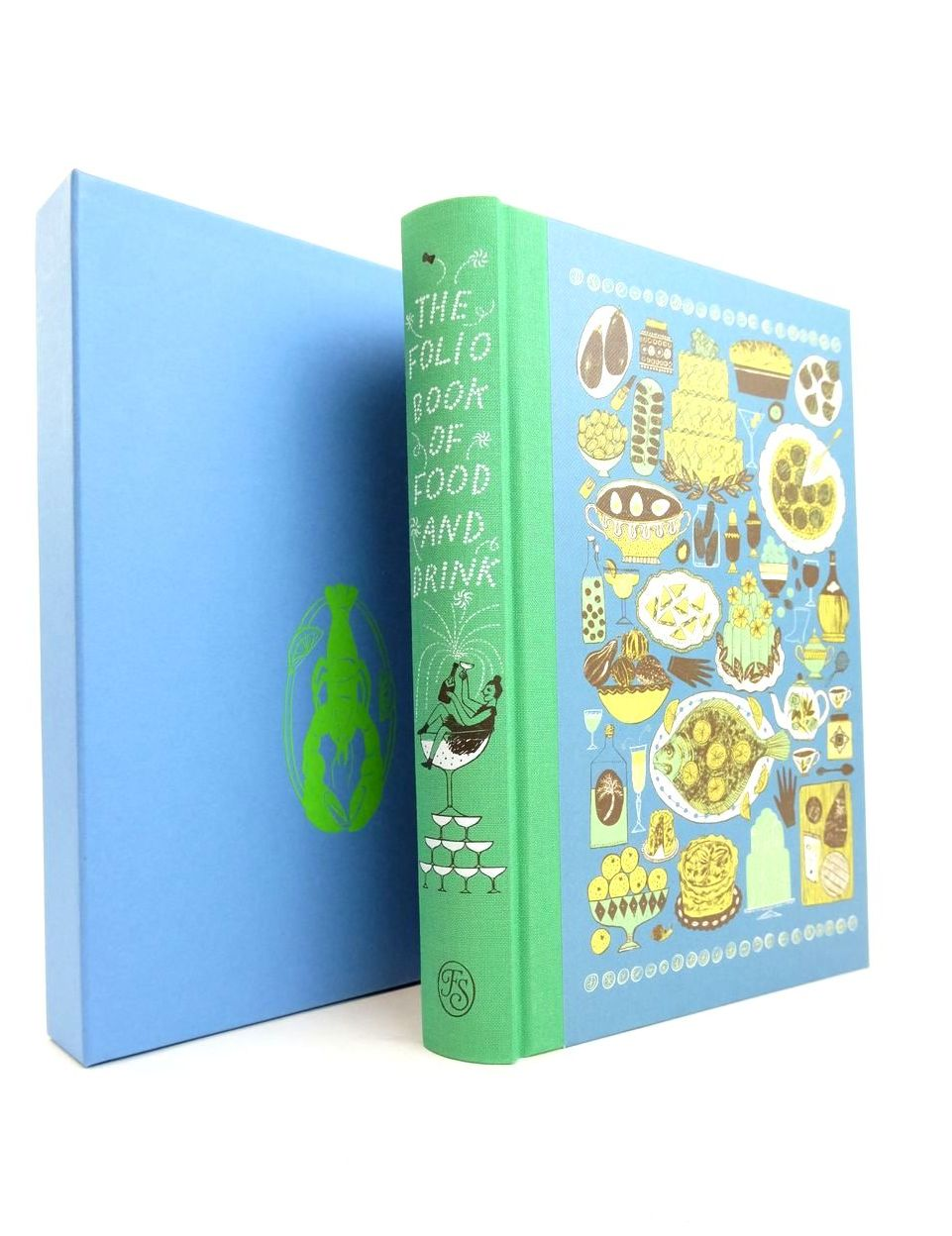 Photo of THE FOLIO BOOK OF FOOD AND DRINK written by Tulloh, Jojo et al,  published by Folio Society (STOCK CODE: 1821524)  for sale by Stella & Rose's Books