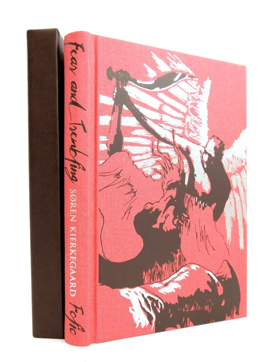 Photo of FEAR AND TREMBLING written by Kierkegaard, Soren Aabye Hannay, Alastair Ree, Jonathan illustrated by Scheruebel, Paul published by Folio Society (STOCK CODE: 1821526)  for sale by Stella & Rose's Books