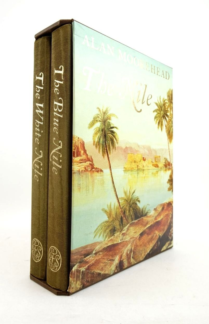 Photo of THE NILE (2 VOLUMES) written by Moorehead, Alan published by Folio Society (STOCK CODE: 1821528)  for sale by Stella & Rose's Books