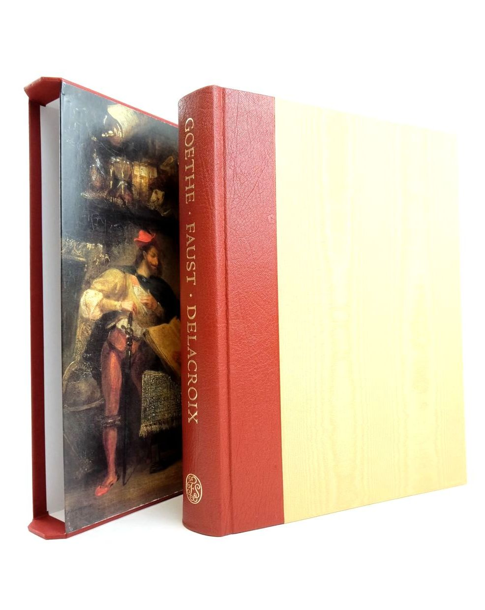 Photo of FAUST written by Goethe, Johann Wolfgang Von Luke, David Boyle, Nicholas illustrated by Delacroix, Eugene et al., published by Folio Society (STOCK CODE: 1821529)  for sale by Stella & Rose's Books