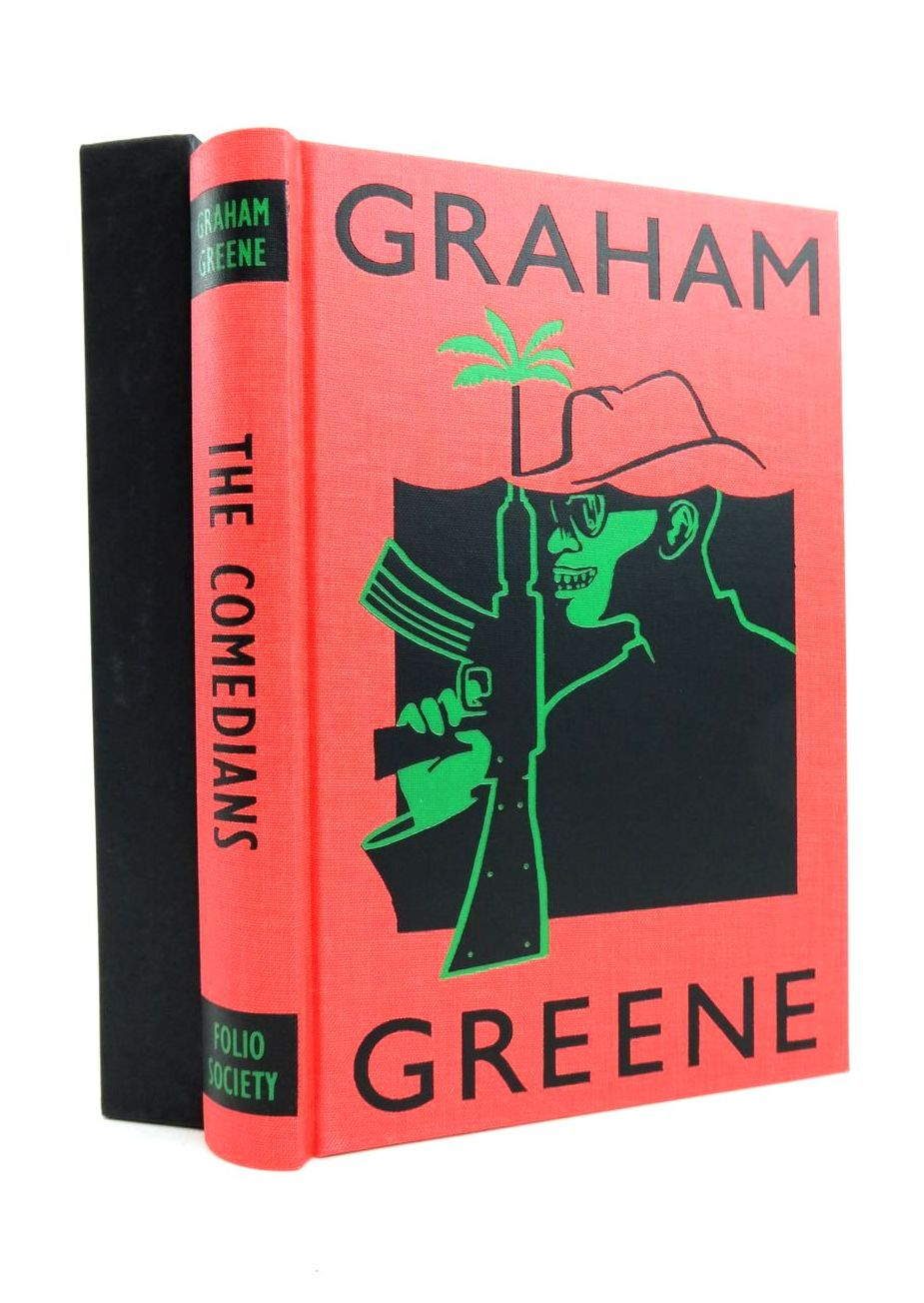 Photo of THE COMEDIANS written by Greene, Graham Wheen, Francis illustrated by Ogilvie, Sara published by Folio Society (STOCK CODE: 1821538)  for sale by Stella & Rose's Books