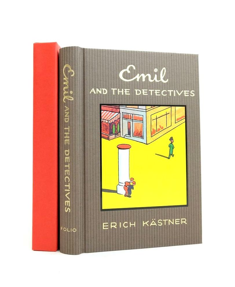 Photo of EMIL AND THE DETECTIVES written by Kastner, Erich De La Mare, Walter Rosen, Michael illustrated by Trier, Walter published by Folio Society (STOCK CODE: 1821556)  for sale by Stella & Rose's Books