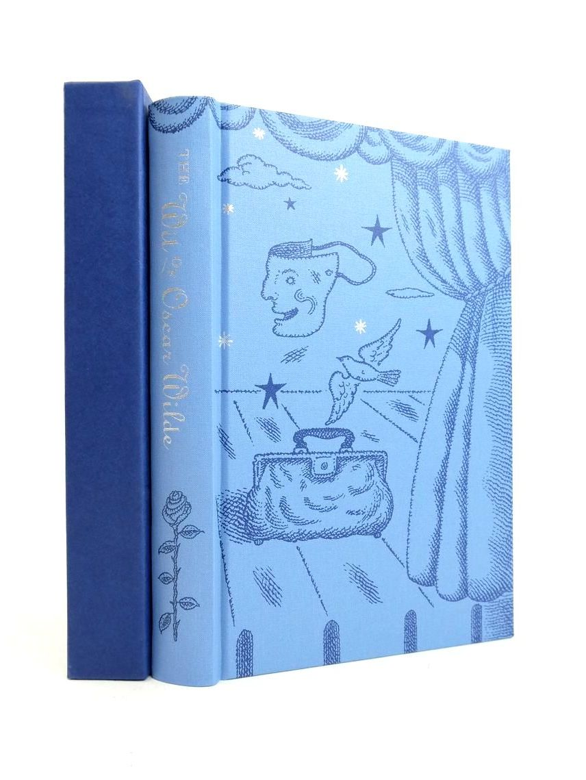 Photo of THE WIT OF OSCAR WILDE written by Wilde, Oscar Holland, Merlin illustrated by Beck, Ian Archie published by Folio Society (STOCK CODE: 1821559)  for sale by Stella & Rose's Books