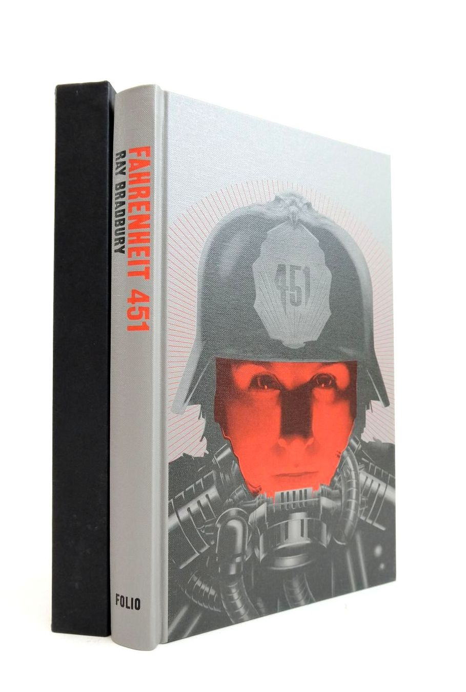 Photo of FAHRENHEIT 451 written by Bradbury, Ray Moorcock, Michael illustrated by Weber, Sam published by Folio Society (STOCK CODE: 1821573)  for sale by Stella & Rose's Books