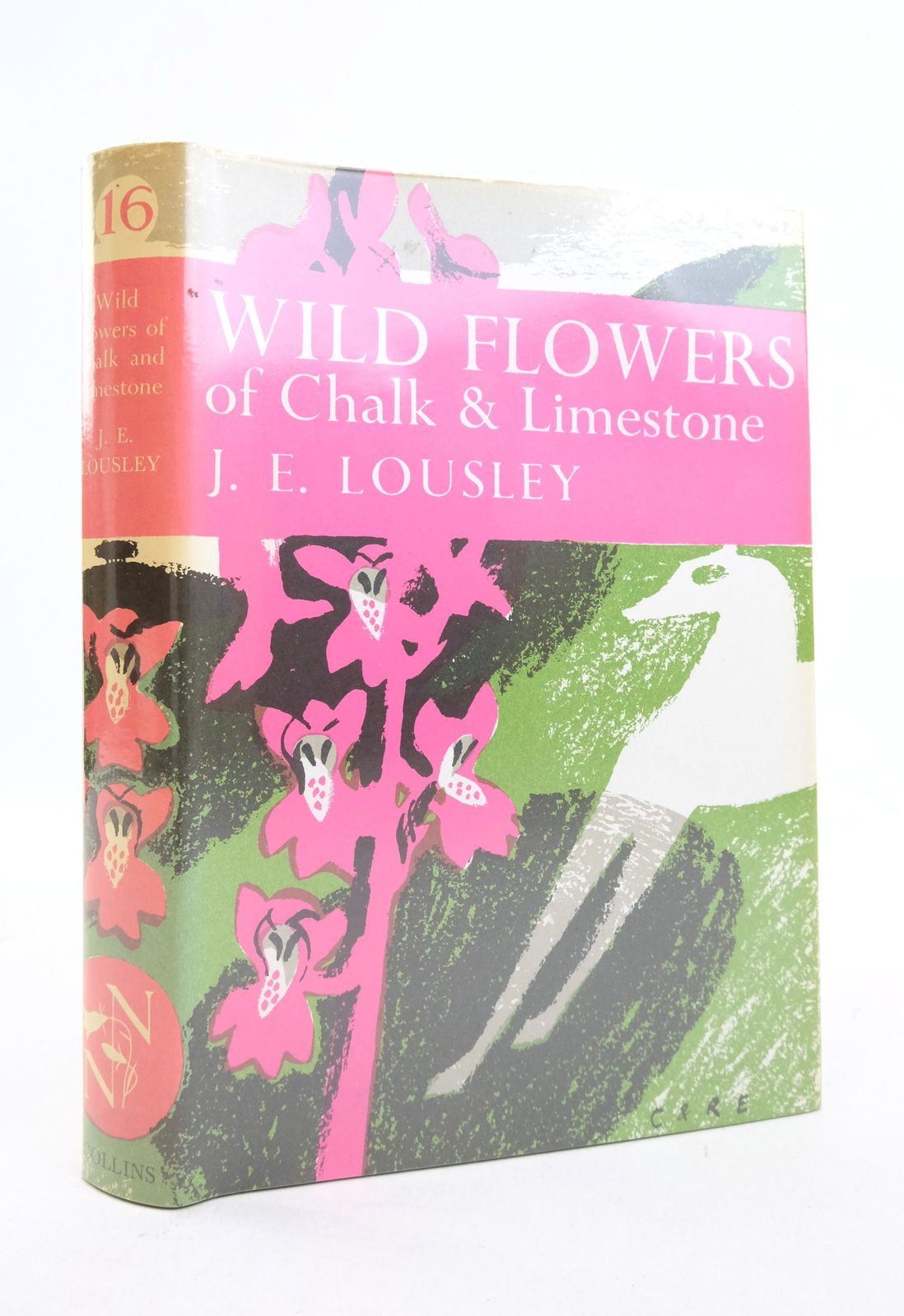 Photo of WILD FLOWERS OF CHALK & LIMESTONE written by Lousley, J.E. published by Collins (STOCK CODE: 1821594)  for sale by Stella & Rose's Books