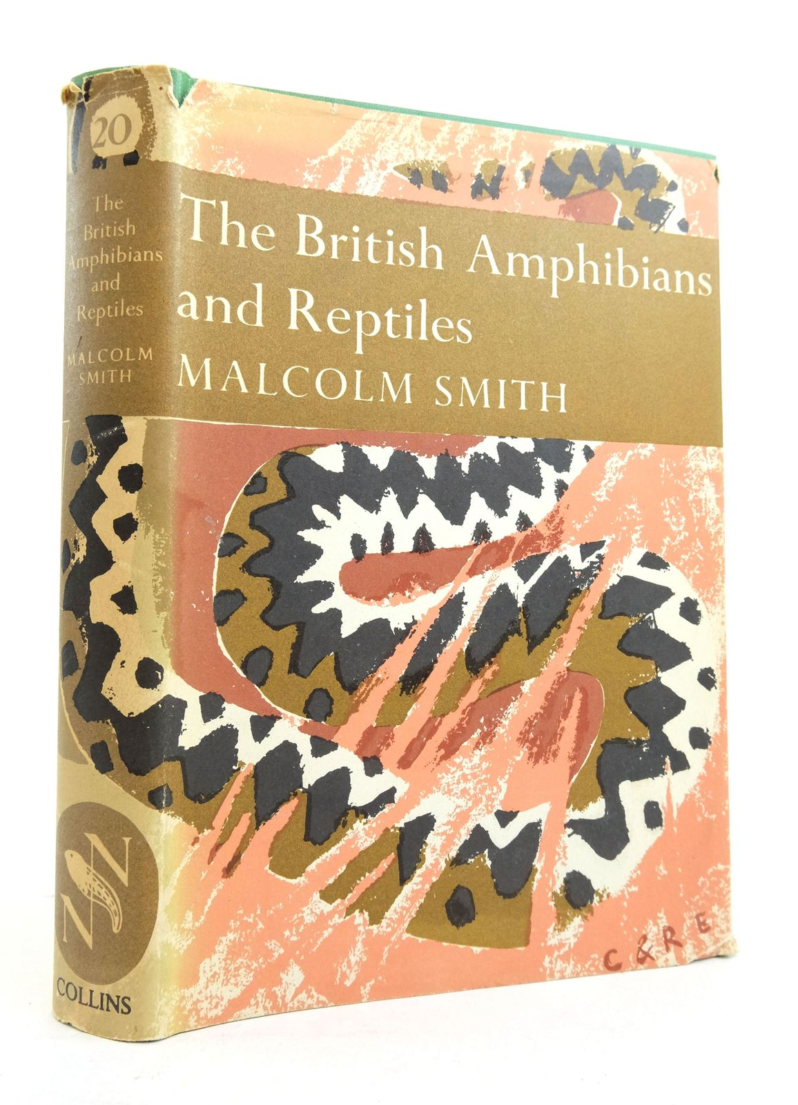 Photo of THE BRITISH AMPHIBIANS & REPTILES (NN 20)- Stock Number: 1821602