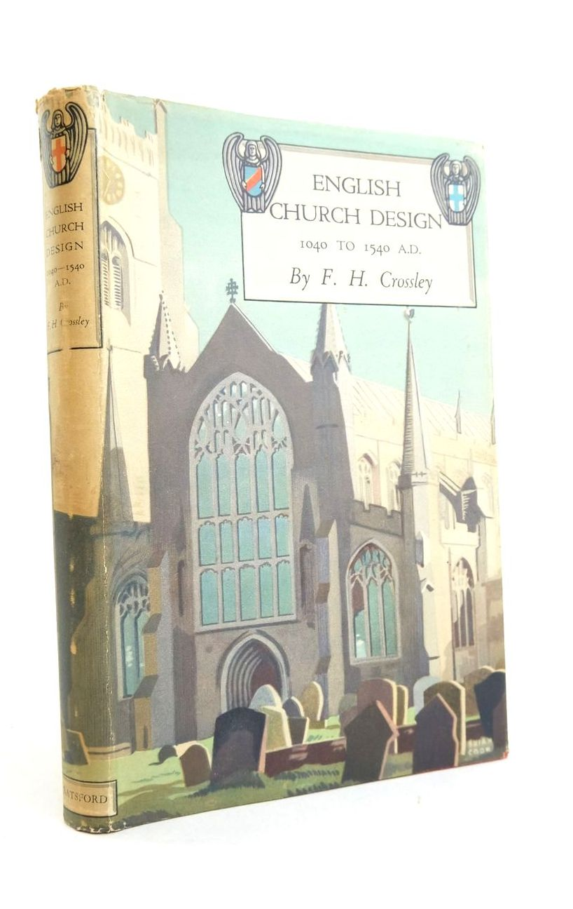Photo of ENGLISH CHURCH DESIGN 1040-1540 A.D.- Stock Number: 1821622