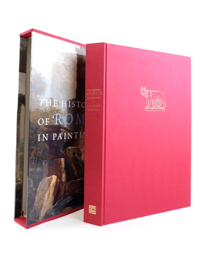 Photo of THE HISTORY OF ROME IN PAINTING written by Caracciolo, Maria Teresa De Ayala, Roselyne published by Abbeville Press (STOCK CODE: 1821632)  for sale by Stella & Rose's Books