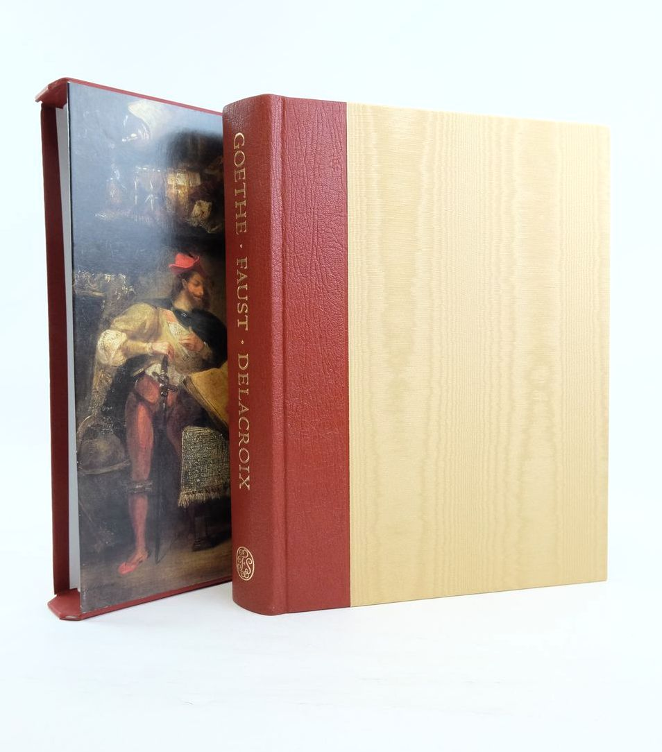 Photo of FAUST written by Goethe, Johann Wolfgang Von Luke, David Boyle, Nicholas illustrated by Delacroix, Eugene et al., published by Folio Society (STOCK CODE: 1821638)  for sale by Stella & Rose's Books
