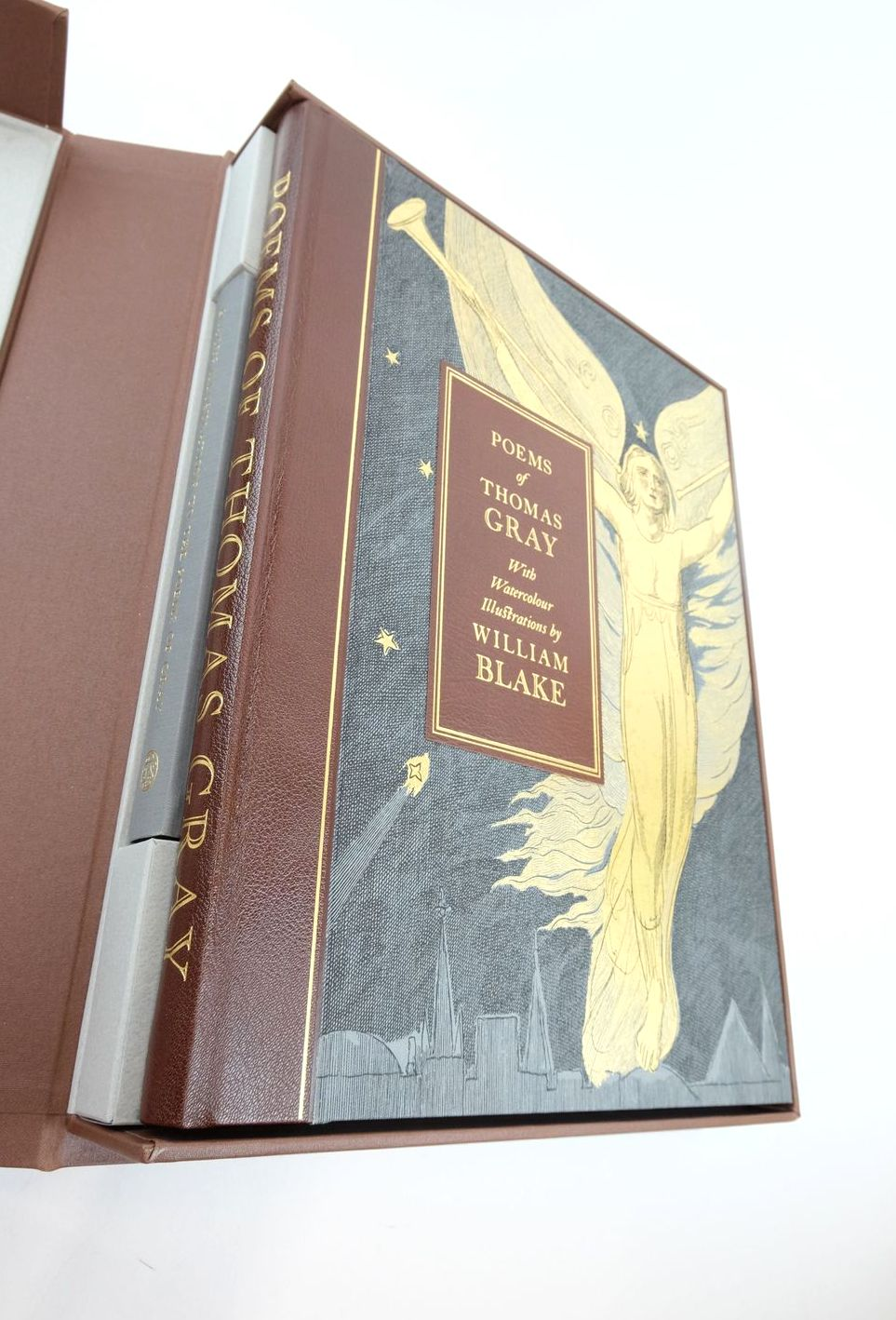 Photo of POEMS OF THOMAS GRAY written by Gray, Thomas Tayler, Irene illustrated by Blake, William published by Folio Society (STOCK CODE: 1821644)  for sale by Stella & Rose's Books