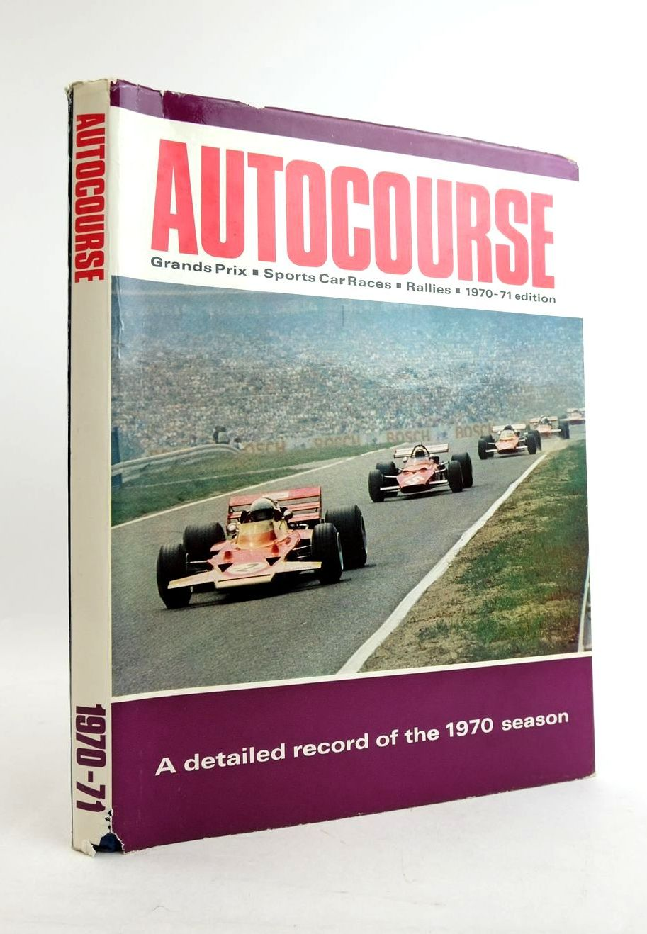 Photo of AUTOCOURSE 1970-71 written by Phipps, David published by The Haymarket Press (STOCK CODE: 1821726)  for sale by Stella & Rose's Books