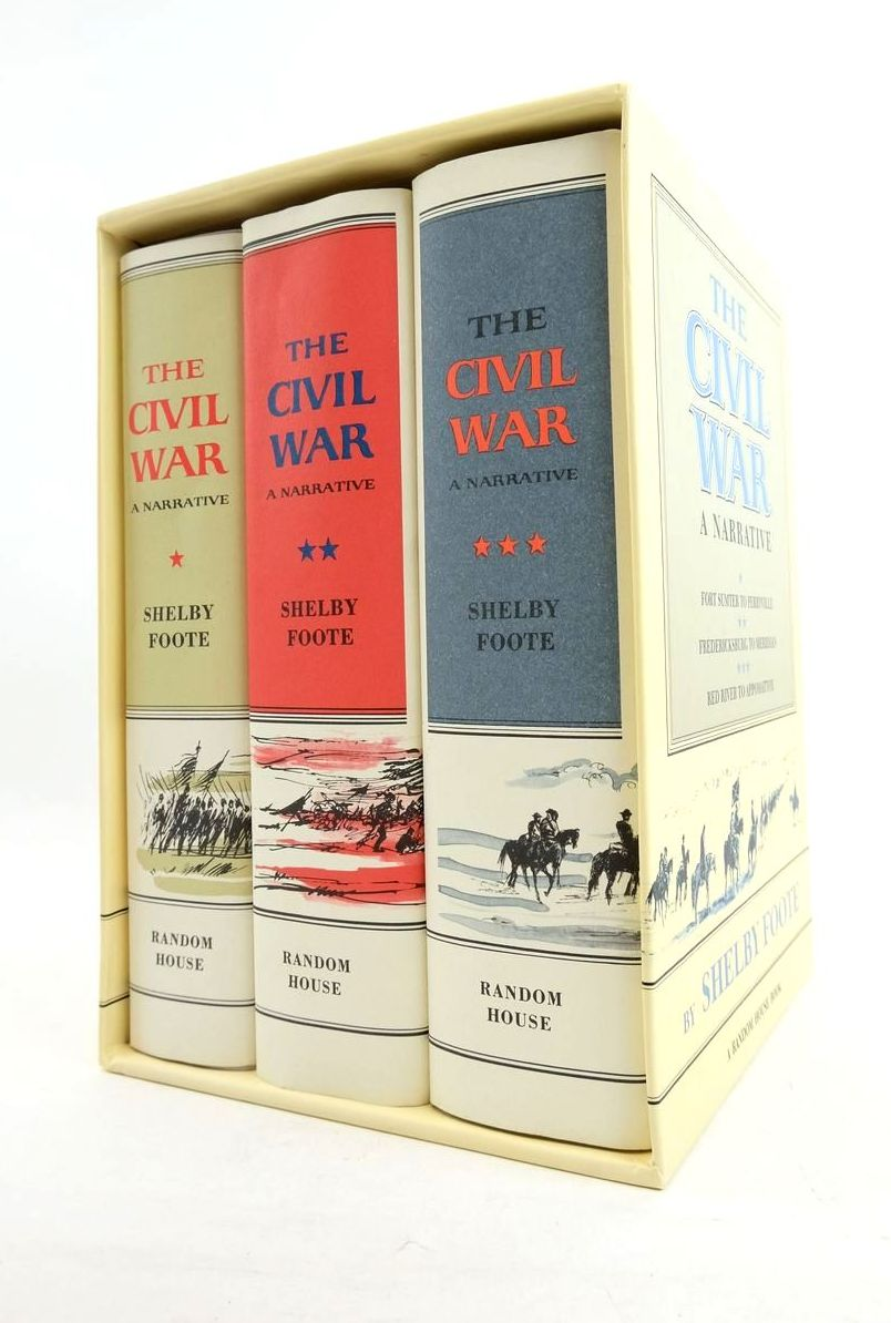 Photo of THE CIVIL WAR A NARRATIVE (THREE VOLUMES) written by Foote, Shelby published by Random House (STOCK CODE: 1821739)  for sale by Stella & Rose's Books