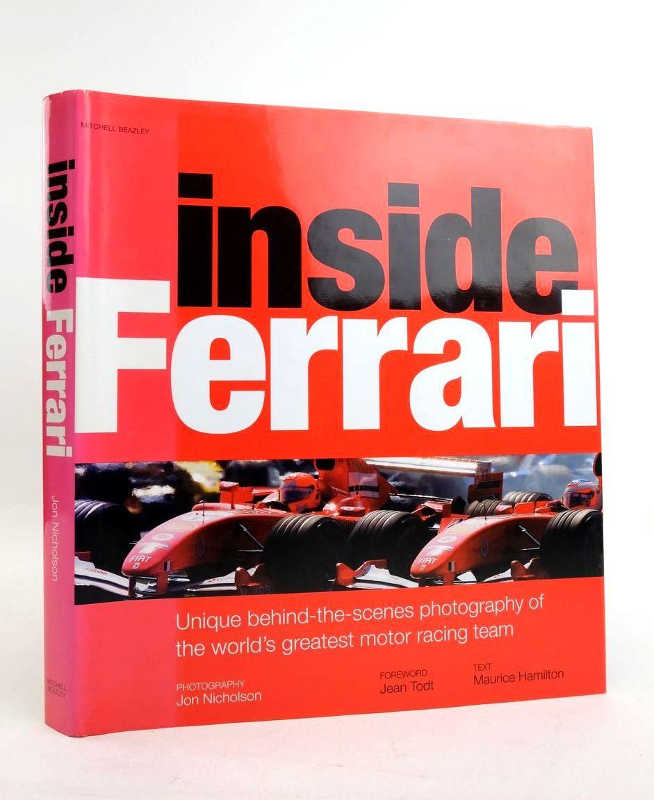 Photo of INSIDE FERRARI- Stock Number: 1821761