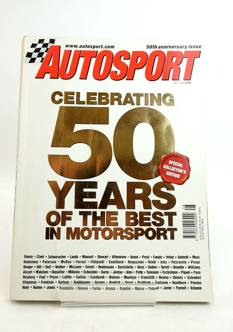 Photo of AUTOSPORT 50TH ANNIVERSARY ISSUE- Stock Number: 1821764