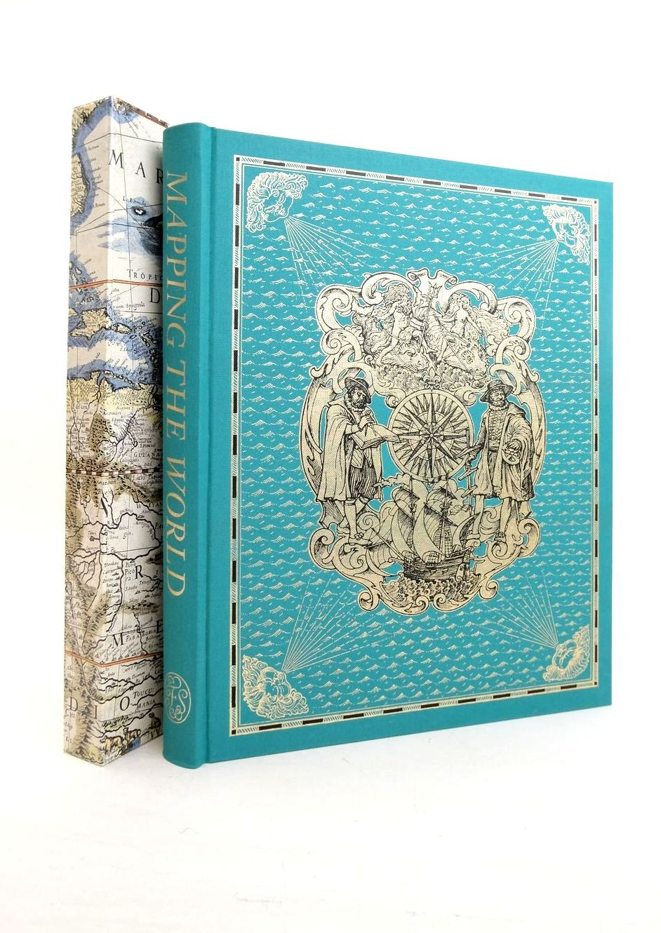 Photo of MAPPING THE WORLD written by Whitfield, Peter published by Folio Society (STOCK CODE: 1821774)  for sale by Stella & Rose's Books