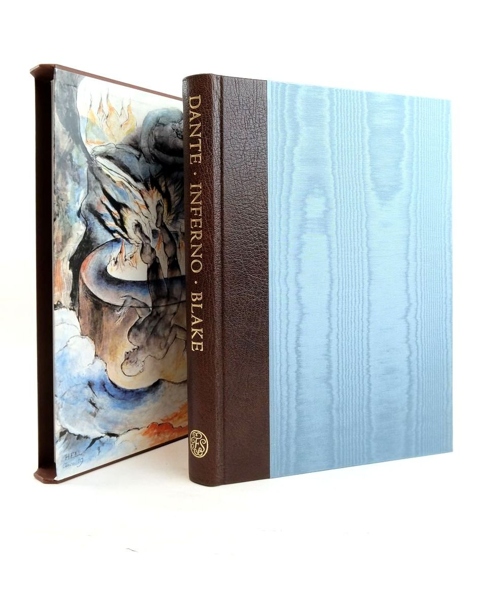 Photo of INFERNO written by Alighieri, Dante Cary, Henry Francis Hamlyn, Robin illustrated by Blake, William published by Folio Society (STOCK CODE: 1821780)  for sale by Stella & Rose's Books