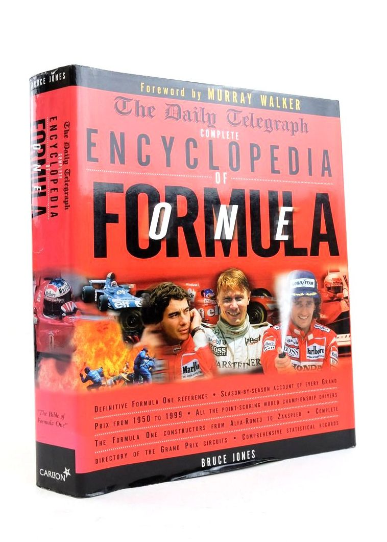 Photo of THE DAILY TELEGRAPH COMPLETE ENCYCLOPEDIA OF FORMULA ONE- Stock Number: 1821787