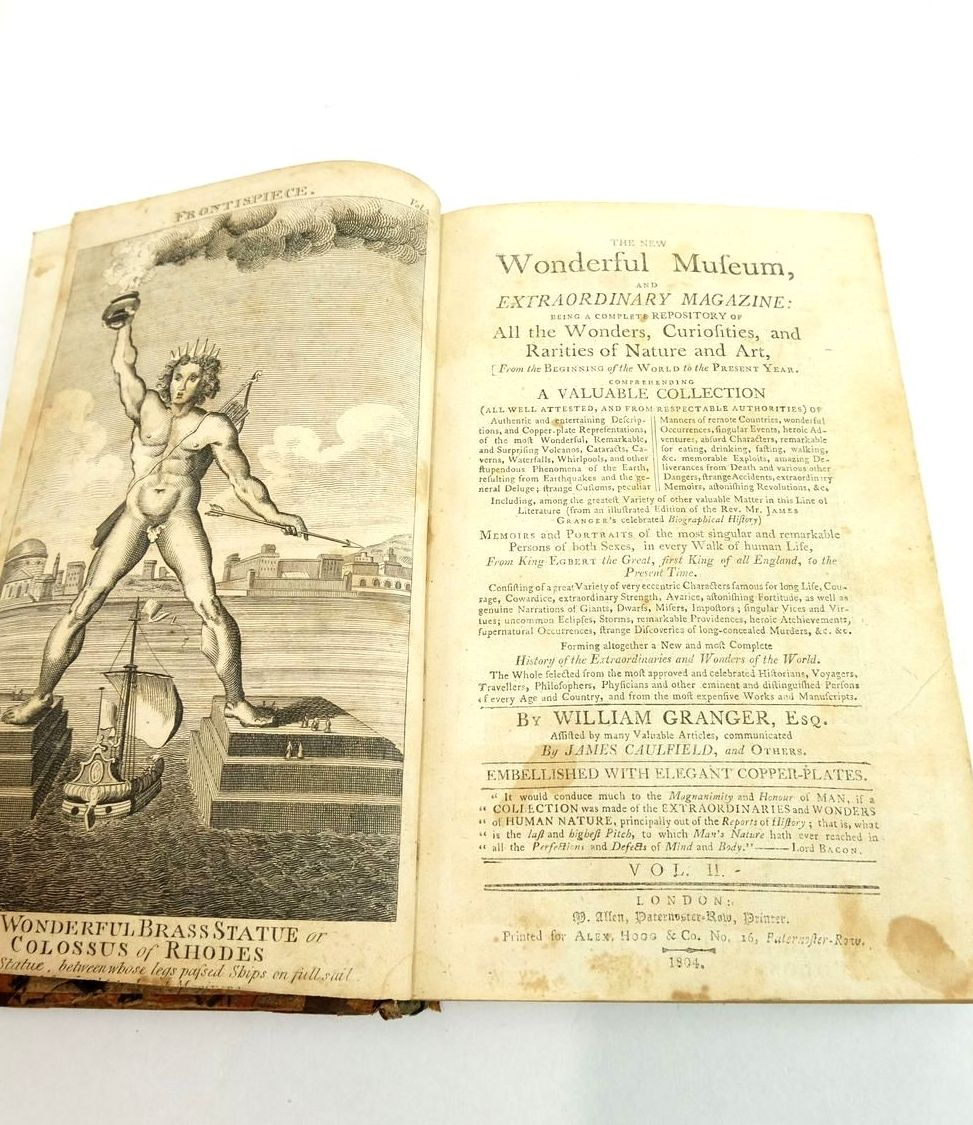 Photo of THE NEW WONDERFUL MUSEUM, AND EXTRAORDINARY MAGAZINE VOL. II written by Granger, William Caulfield, James published by Alex Hogg (STOCK CODE: 1821829)  for sale by Stella & Rose's Books