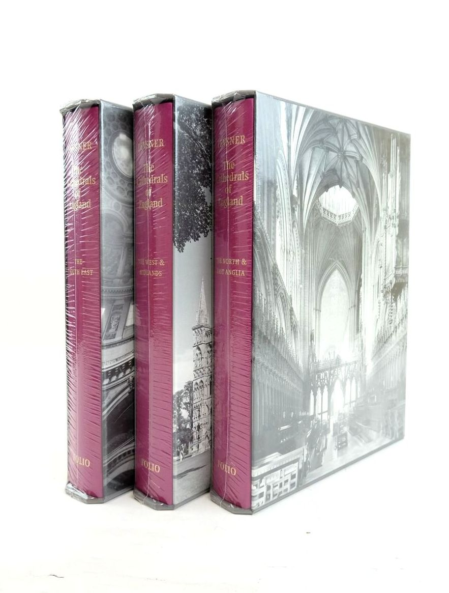 Photo of THE CATHEDRALS OF ENGLAND (3 VOLUMES)- Stock Number: 1821847