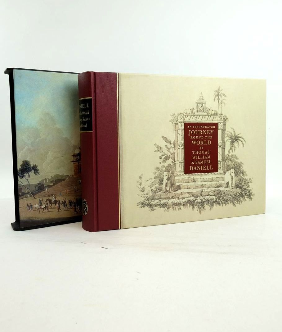 Photo of AN ILLUSTRATED JOURNEY ROUND THE WORLD written by Daniell, Thomas Daniell, Samuel Daniell, William Prior, Katherine illustrated by Daniell, Samuel Daniell, Thomas Daniell, William published by Folio Society (STOCK CODE: 1821856)  for sale by Stella & Rose's Books