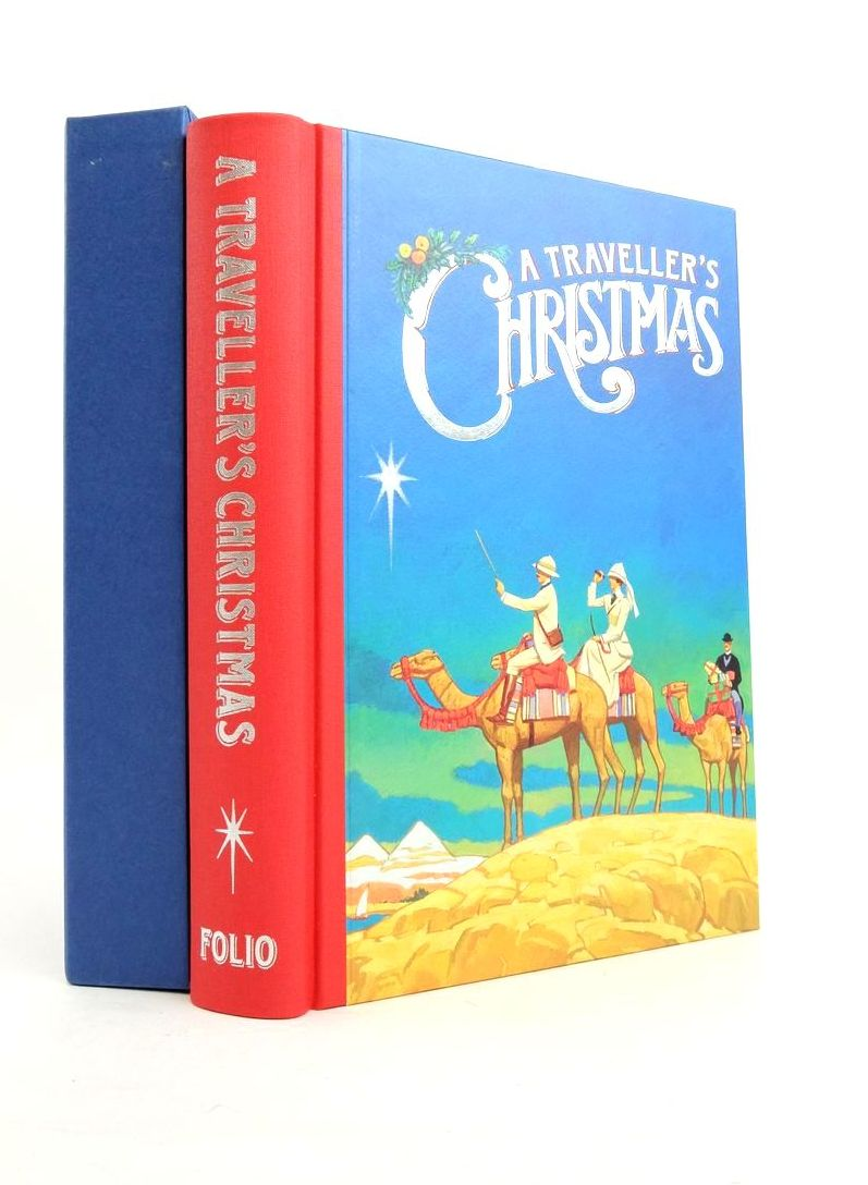Photo of A TRAVELLER'S CHRISTMAS written by Bradbury, Sue illustrated by Slater, Paul published by Folio Society (STOCK CODE: 1821866)  for sale by Stella & Rose's Books