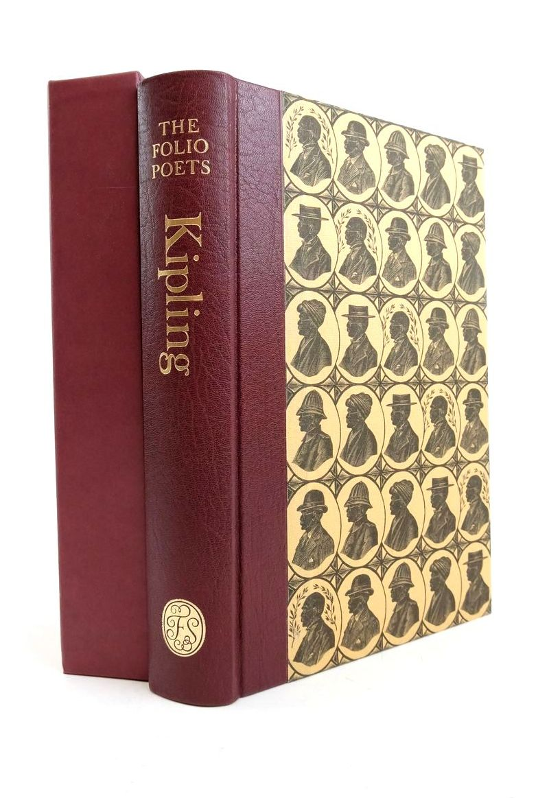 Photo of RUDYARD KIPLING SELECTED POEMS (THE FOLIO POETS) written by Kipling, Rudyard Lycett, Andrew illustrated by Tute, George published by Folio Society (STOCK CODE: 1821898)  for sale by Stella & Rose's Books